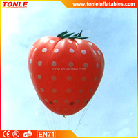 Most Pouplar Inflatables fruit, custom inflatable strawberry for sale