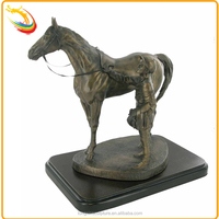 Garden Abstract Tang Dynasty Large Bronze Horse Sculpture