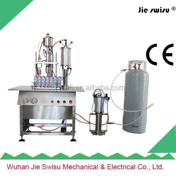 LPG cartridge gas Filling Machine