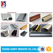 Europe Best Price Custom 6000 Series pure aluminum profile for Bulgaria , England, France, Germany, Holland, Malta, Russia