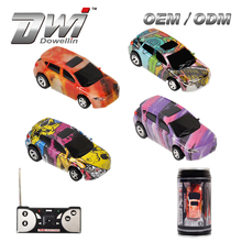RC Coke Can Car DWI 1: 63 scale 4CH Remote Control Truck Chinese Mini Car for Kid
