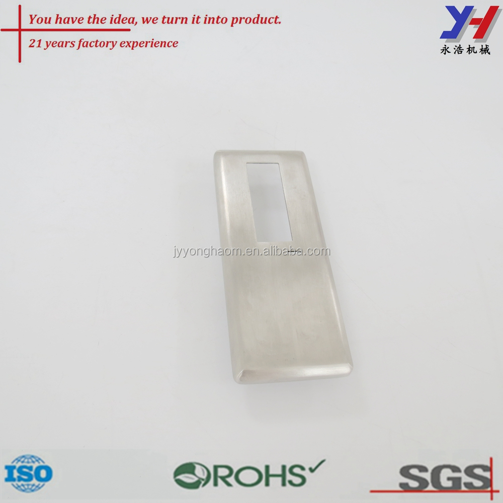 Factory custom stainless steel wire drawing riveting electric appliance panel cover