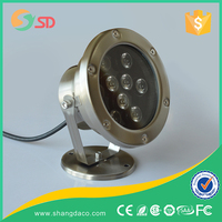 Resin filled LED Swimming -LED Pool Light Underwater Light completely waterproof 18W,for concrete pools