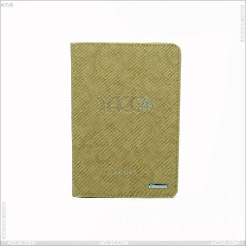 New design Fashion Canvas PU Leather Case for iPad Mini