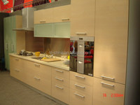 modular white design morden kitchen furniture kitchen cabinets/metal cupboards