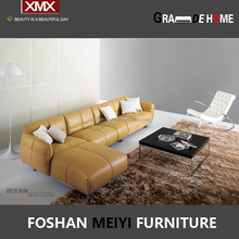 New design genunie italy leather luxury sofa set 2619