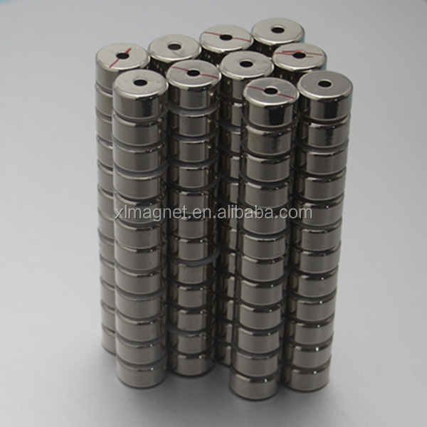 Industrial Application Strong Customized D18-4x9mm Neodymium Magnet