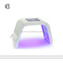 2017 hot sale pdt led facial light skin tightening machine