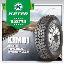 Keter Intertrac China Truck Tyre Factory, 1000R20, 295/80R22.5, 11R22.5, 315/80R.22.5 385/65R22.5 Truck Tyre