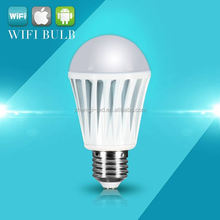 IBULB: 2012 high class wifi led bulb | touch screen control bulb light led | rainbow light bulb