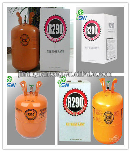 High Purity Refrigerant Gas Propane R290