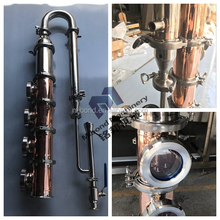 50L/100 Litter Modular small stainless steel/copper stills/rum vodka gin alcohol distillery equipment for sale