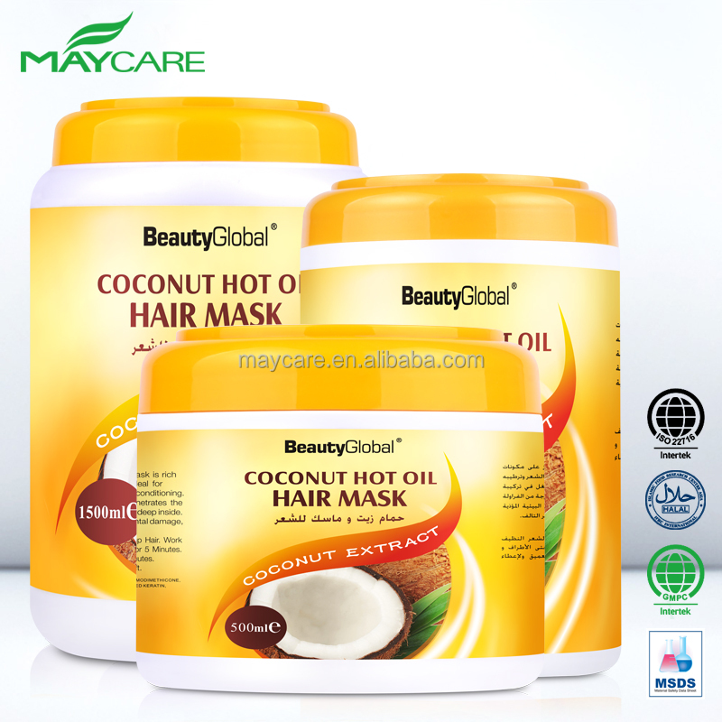 best hair care product collagen private label coconut oil hair mask