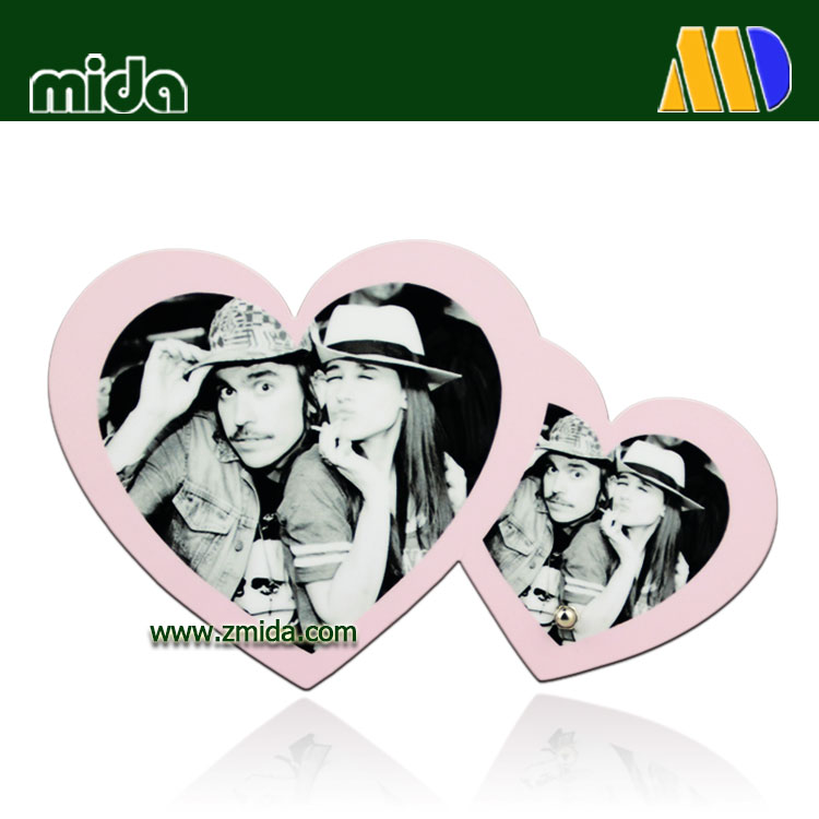 Mida Pictur Design Sublimation 3mm 6mm 12 mm Personalized Wedding Gifts Hardboard MDF Photo Frame
