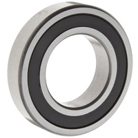 Deep Groove Ball Bearing 6303 RS, ABEC-1, Z1V1 ,C0, Single Row, two contact rubber seals,SRL grease low noise ball bearing
