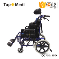 TRW958LBCGPY cerebral palsy chairs for children reclining wheelchair for cerebral palsy children
