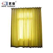 Home decor blackout fabric luxury living room drapes double layer curtain