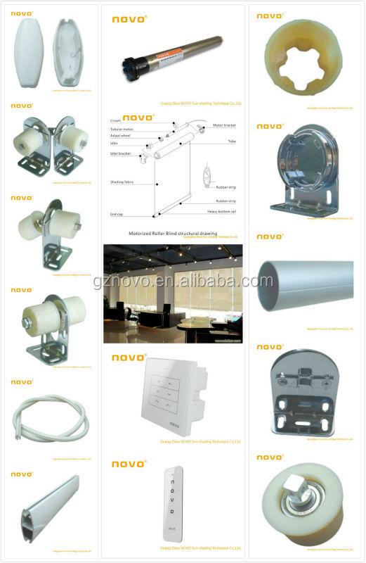 NOVO zebra roller blinds parts/ roller blinds motor /indoor motorized ...