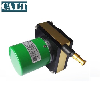 CALT draw wire digital displacement sensor analog potentiometer 3000mm sensor length position measurement