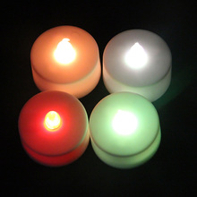christmas party supply decorations led wax candle