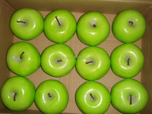 12PCS Big Artificial Weighted Green Apples Faux Fruits Fake Fruits