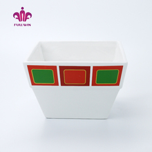 Top quality cheap ceramic chicken bowl