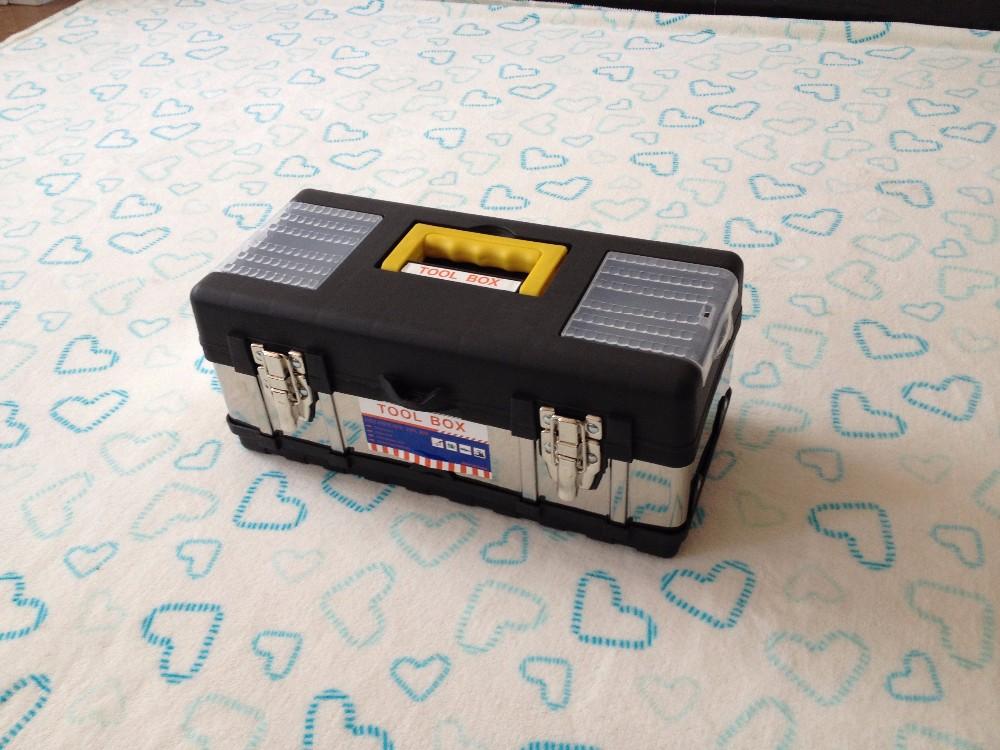 Fabricante Fornecedor de alta Qualidade Por Atacado de Aço Inoxidável Mini Caixa de Ferramentas caixa de dobramento clara
