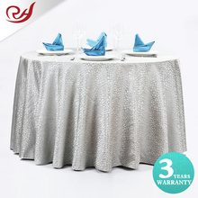 Lace look colorful commercial tablecloths silver overlays wedding