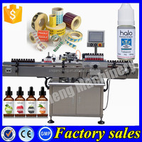 100% factory adhesive bottle labelling machine,10ml e liquid bottle labeling machine