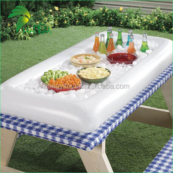 Hot Sale Customized Design Inflatable Buffet Bar for Outdoor Party/ Picnic