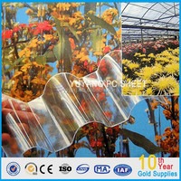 polycarbonate swimming pool cover/polycarbonate corrugated board