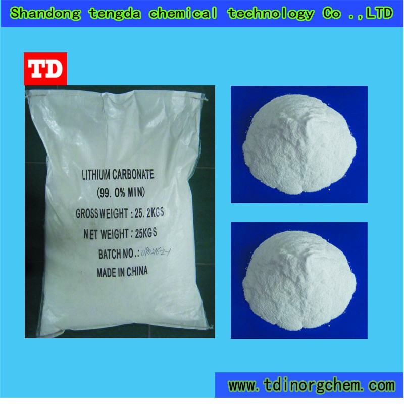 Electronic grade inorganic compound lithium carbonate Li2CO3 554-13-2
