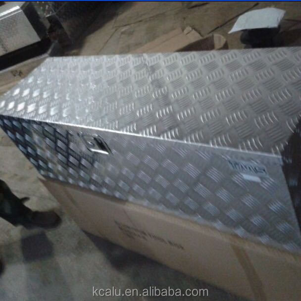 customized 5 bar and diamond aluminum boxes 1.25mm 1.35mm 1.4mm 1.5mm thick