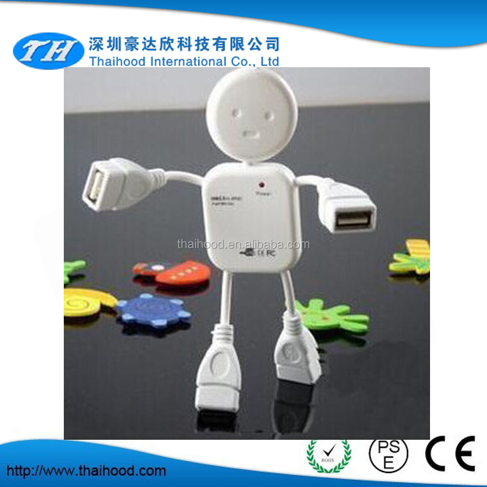 Hooot!!! cute USB hub man shape hub human USB hub
