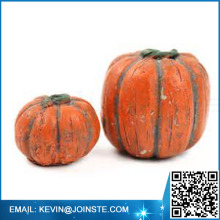 Custom wholesale resin pumpkins,craft resin pumpkins