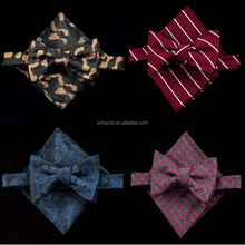 FY8 Self bowtie and hanky sets