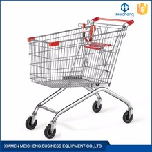 Available with light medium and heavy carrying capacities supermarket cart