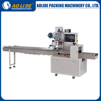 ALD~320D automatic feeding film bag wrapping plastic packing strip making machine