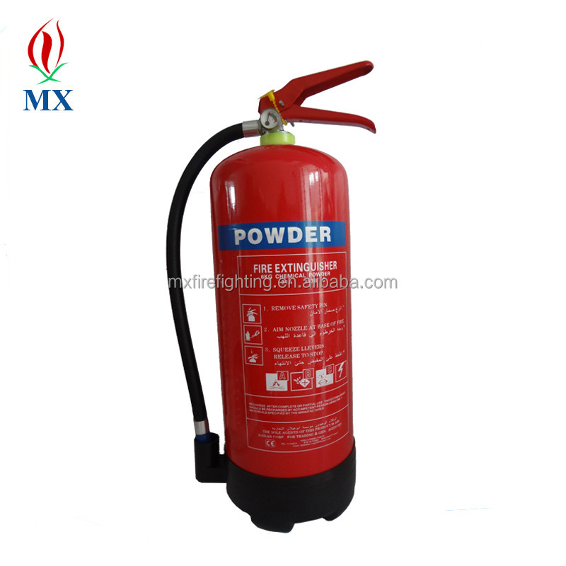 safety fire equipment / 6kg empty portable abc dry powder fire extinguisher price