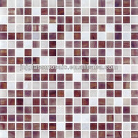 2013HOT High class JNJ mosaic color stone glass mosaic tile
