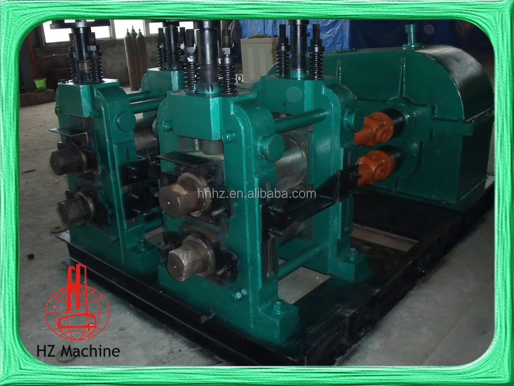 Steel Hot Rolling Mill Wrought Iron Machinery