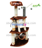 2015 Brown Cat Toy Cat Scratching Posts for Kedi