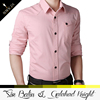 high quality new arrival top selling pink color copper stone shirt