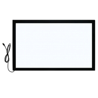 Indoor touch screen panel kit frame