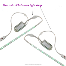 Hot sales waterproof 3V rechargeable led lights for shoes/clothing