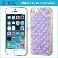 Mobile Phone Bling Rhinestone Diamond Crystal Glitter Bling Hard Case Cover Shell Phone Case For iPhone 5