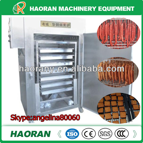 factory supply big output Sausage smokehouse for meat processing