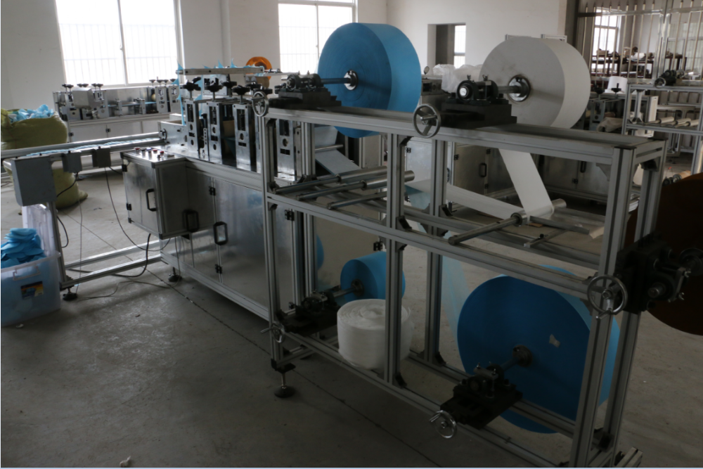ALT-LP80 Filter Cotton Making Machine