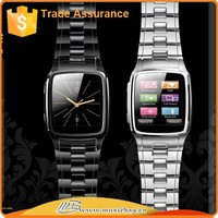 1.54 inches Touch screen business smart watch cell phone with MP3 MP4,support SIM card/bluettoth sync