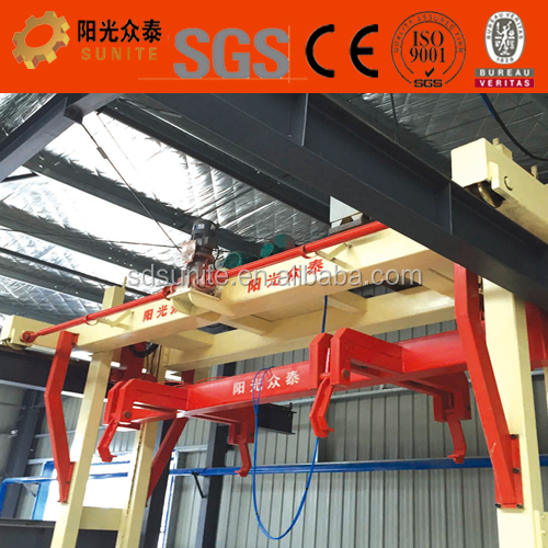 AAC block production line producing changeable size aac block